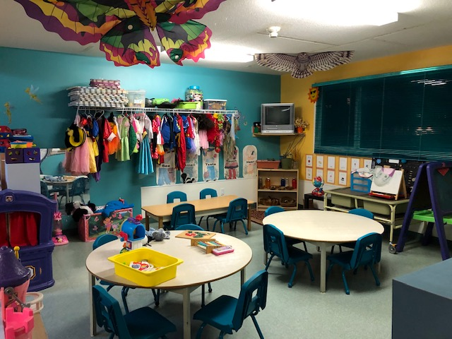 Day care interior